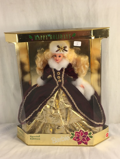 "Collector NIP 1996 Mattel Holiday Celebration Barbie Doll  11-12"" Tall Doll - See Pictures"