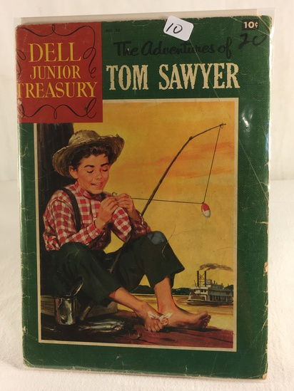 Collector Vintage Dell Junior Treasury The Adventures Of TOM Sawyer Comic Book NO.10