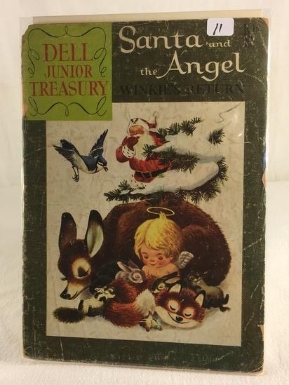 Collector Vintage Dell Junior Treasury Santa and The Angel Winlle's Return Comic Book