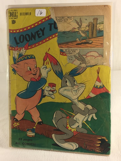 Collector Vintage Dell Comics Looney Tunes Comic Book - Has Ripped - See Pictures