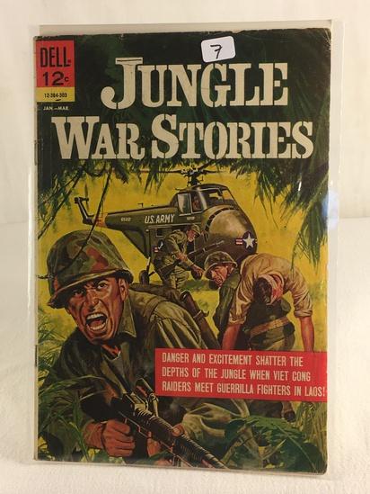 Collector Vintage Dell Comics Jungle War Stories Comic Book #12-384-303