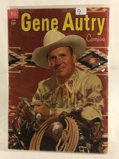 Collector Vintage Dell Comics Gene Autry Comic Book