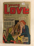 Collector Vintage Ind. Young Love Comic Book