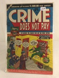 Collector Vintage Crime Does Not Pay Comic Book No.74