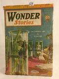 Collector Vintage Gernsback Publication Wonder Stories Book Vol.2 NO.7