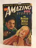 Collector Vintage  Amazing Stories The Masked World Book No.