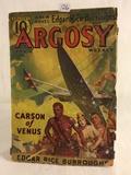 Collector Vintage Argosy Weekly Jan. 8  Book Carson Of Venus