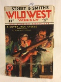 Vintage 1934 Wild West Weekly Street & Smith's All Stories Complete Book Vol.81 No.6