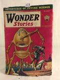 Vintage Hugo Gernsback Edition Adventures Of Future Science Wonder Stories Vol.3 NO.5