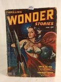 Vintage Thrilling Publication Book Wonder Stories Son of The Tree Book Vol.38 No. 2