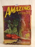 Vintage Amazing Stopries The Shaver Mystery Book Vol.21 No.6