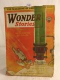Vintage The Amazing Of Fiction Wonder Stories Dust Of Destruction Edition Vol.2 No.9