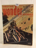 Vintage Thrilling Publication Book Wonde Stories Science Fiction By Top Whiters Vol.XLI No.3