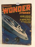 Vintage Thrilling Publication Wonder Stories Asylum Satellite Vol.39 No.1 Book