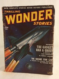 Vintage Thrilling Publication Book Wonder Stories The Gadget Had a Ghost Vol.XL No.2