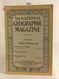 Collector Vintage December 1915 The National geographic Magazine Book Vol.XXVIII No.6