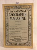 Collector Vintage October 1918 The National Geographic Magazine Book Vol. XXXIV No. 4