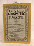 Collector Vintage October 1929 The National Geographic Magazine Book Vol. LVI No.4