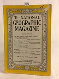Collector Vintage February 1949 The National Geographic Magazine Book Vol. XCV No.2