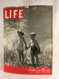 Collector Vintage September 2.1946 15 Cents Life Magaizne Vacation's End