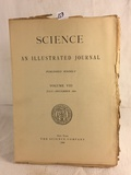 Collector Vintage July-December 1886 Science An Illustrated Journal Vol. VIII