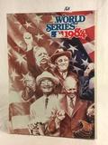 Collector Vintage 1984 Official Program World Series Sport Baseball