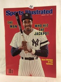 Collector Vintage 1981 Sports Illustrated The Man Who Hit The Jackpot Magazine