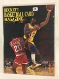 Collector 1990 Beckett Basketball Card Magazine