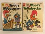 Lot of 2 Pcs Collector Vintage Dell Comics Walter Lantz Woody Woodpecker Comic Books