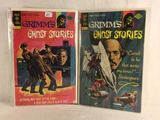 Lot of 2 Pcs Collector Vintage Gold Key Comics Grimm's Ghost Stories Comic Books