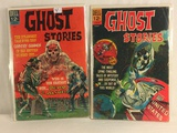 Lot of 2 Pcs Collector Vintage Dell Comics Ghost Stories August-May Comic Books