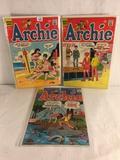 Lot of 3 Pcs Collector Vintage Archie Series Archie Comic Books No.175.179.212.
