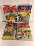 Lot of 4 Pcs Collector Vintage Archie's Series Joke Book Magazine No.98.99.103.106.