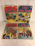 Lot of 4 Pcs Collector Vintage Archie's Series Joke Book Magazine No.110.111.112.113.
