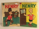 Lot of 2 Pcs Collector Vintage Dell Comics Carl Anderson's Henry Comic Books