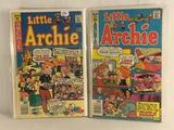 Lot of 2 Pcs Collector Vintage Archie Series Little Archie Comic Books No.124.136.