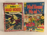 Lot of 2 Pcs Collector Vintage Archie Series Mad House Comic Books No.43.70.