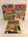 Lot of 3 Pcs Collector Vintage Archie Series Jughead Comic Books No.90.157.212.