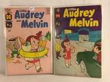Lot of 2 Pcs Collector Vintage Harvey Comics Little Audrey & Melvin Comic Books No.24.26.