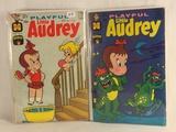 Lot of 2 Pcs Collector Vintage Harvey Comics Playful Little Audrey Comic Books No.63.71.