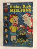 Collector Vintage Harvey Comics  Richie Rich Millions  Comic Book No.16