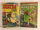 Lot of 2 Pcs Collector Vintage ACG Comics Unknown Worlds Comic ook No.10.57.