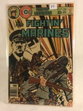 Collector Vintage Charlton Comics All New Figtin' Marines Comic Book No.132
