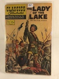 Collector Vintage Classics Illustrated Comics The Lady Of The Lake Comic Book No.75