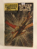 Collector Vintage Classics Illustrated Comics Master Of The World Comic Book No.163