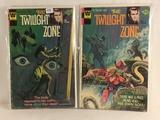 Lot of 2 Pcs Collector Whitman Comics The twilight Zone Comic Books