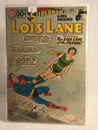 Collector Vintage DC Comics Superman's Girlfriend Lois Lane Comic Book No.28