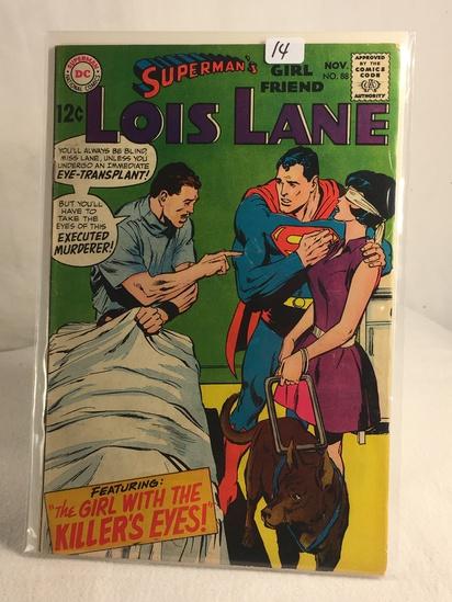Collector Vintage DC Comics Superman's Girlfriend Lois Lane Comic Book No.88