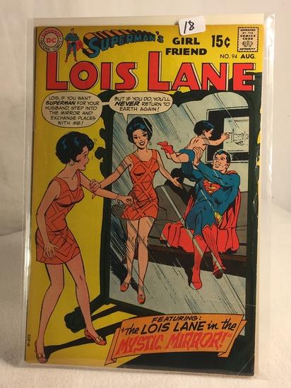 Collector Vintage DC Comics Superman's Girlfriend Lois Lane Comic Book No.94