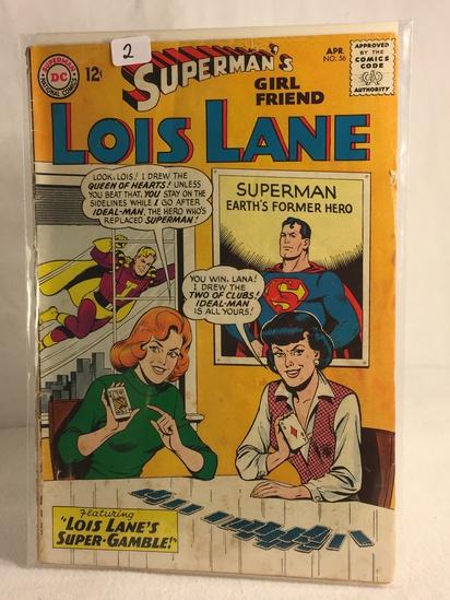 Collector Vintage DC Comics Superman's Girlfriend Lois Lane Comic Book No.56